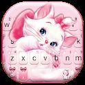 Girlish Kitty Keyboard Theme icon