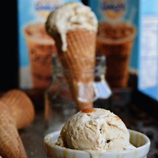 Caramel Macchiato Ice Cream {No Churn}