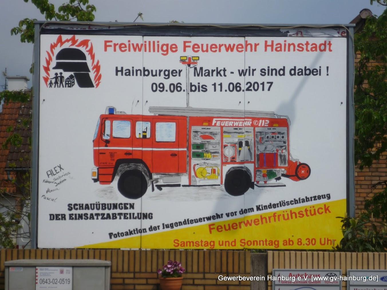 Feuerwehrplakat
