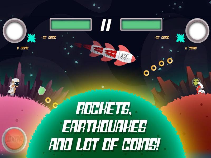Скриншот Planet Rider - 2 player Runner