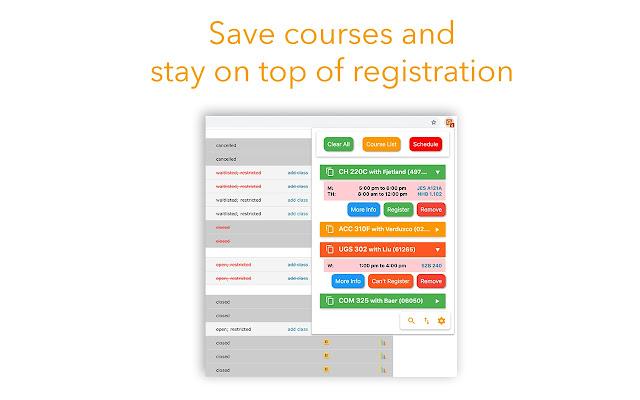 Ut Austin Spring 2019 Course Schedule UT Registration Plus