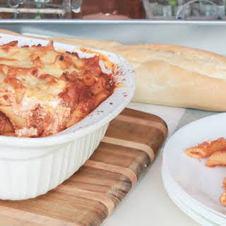 Easy Baked Penne – Lasagna Style.