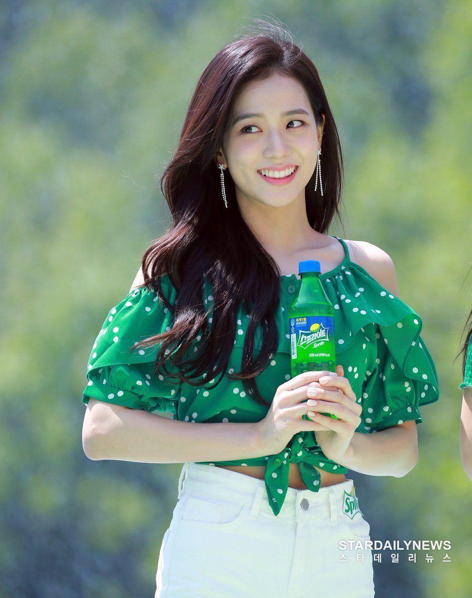 blackpinkrainbow_green_jisoo