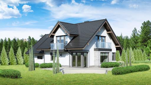 projekt Dom przy Cyprysowej 15 DN2