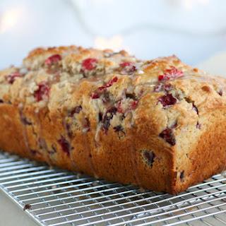 Cranberry Eggnog Muffins