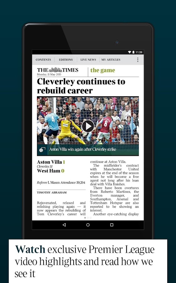 The Times & Sunday Times News- screenshot
