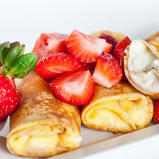 Cheese-Filled Crepes.