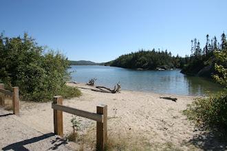 Photo: Im Pukaskwa- Nationalpark am Lake Superior