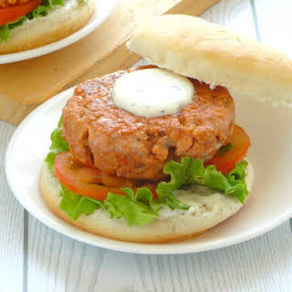 Healthy Salmon Burger.