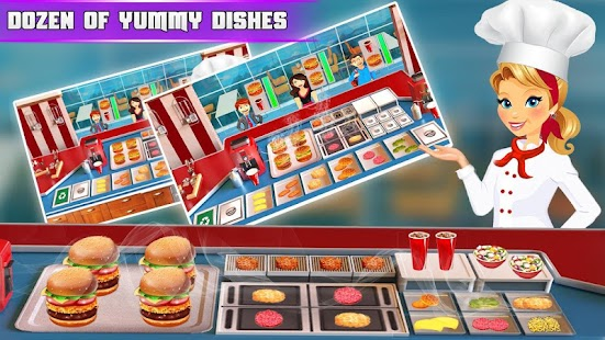 Cooking Burger Chef - Kitchen Game- screenshot thumbnail