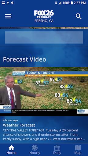 KMPH News FOX Forecast 4.10.2000 screenshots 2