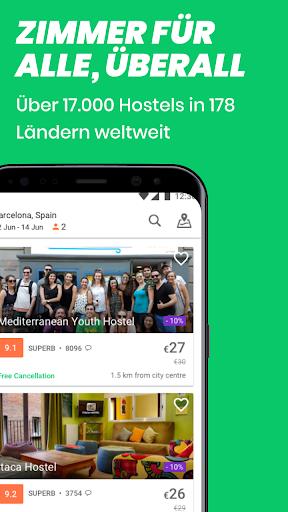 Hostelworld: Jugendherbergen und Reise-App screenshot 2