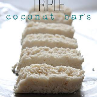 Triple Coconut Bars