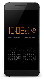 """PsPsClock """"Burst"""" - Music Alarm Clock & Calendar - náhled"""