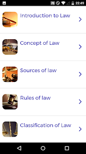 Law Course - náhled