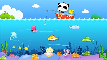 Screenshot of Happy Fishing: game for kids