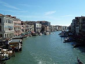 Photo: Le grand canal vu du Rialto