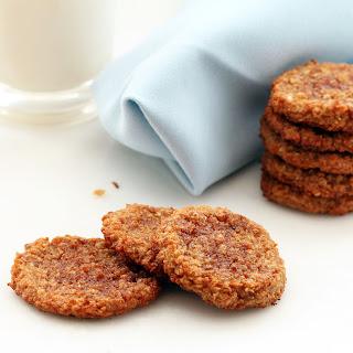 Snickerdoodle Quinoa Cookies (Gluten-free, Vegan / Plant-based)
