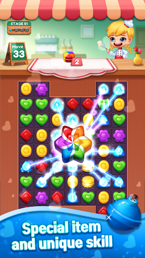Sweet Candy POP : Match 3 Puzzle screenshots 5