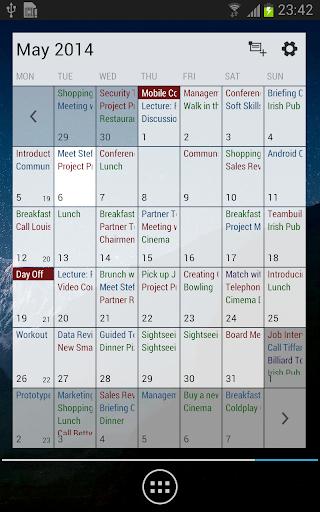 Business Calendar Beta screenshot 8