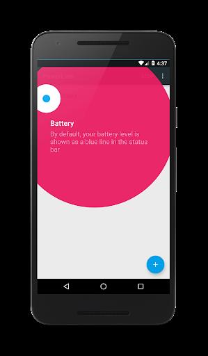 PowerLine: On screen battery, signal, data lines  screenshots 1