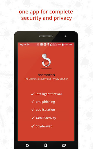 Redmorph Ultimate Privacy & Security Solution screenshot 1