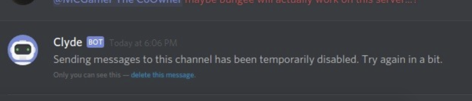 "[Solved] How to Fix Discord Error ""Sending Messages to this Channel has Temporarily been Disabled"""