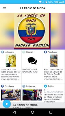 LA RADIO DE MODA - screenshot