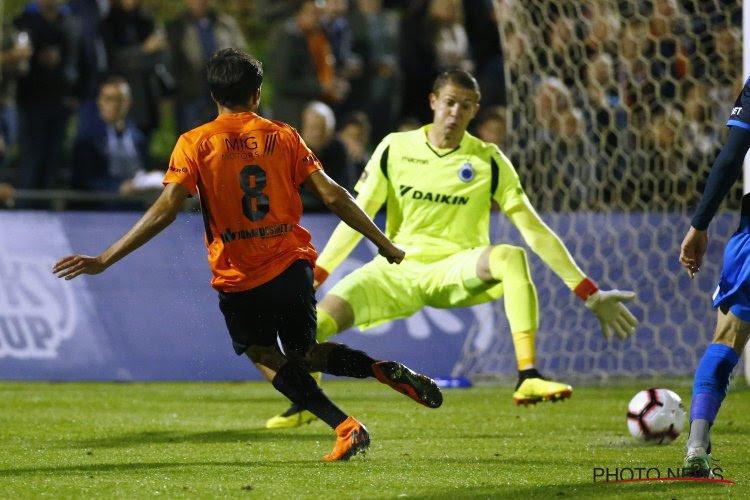 Anderlecht a une petite responsabilité dans l'élimination de Bruges en Coupe de Belgique