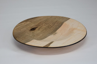 "Photo: Jeff Tate 7"" x 1"" plate [maple]"