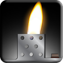 Virtual cigarette lighter icon