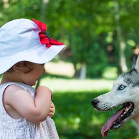 2 by Bogdan Negoita - Babies & Children Child Portraits ( child, girl, children, baby, dog, campionato di fotografia )