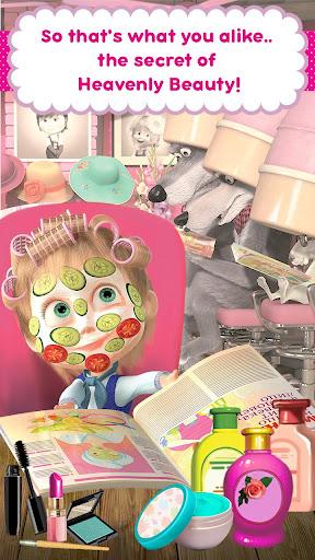 Masha and the Bear: Hair Salon and MakeUp Games 1.1.8 screenshots 6