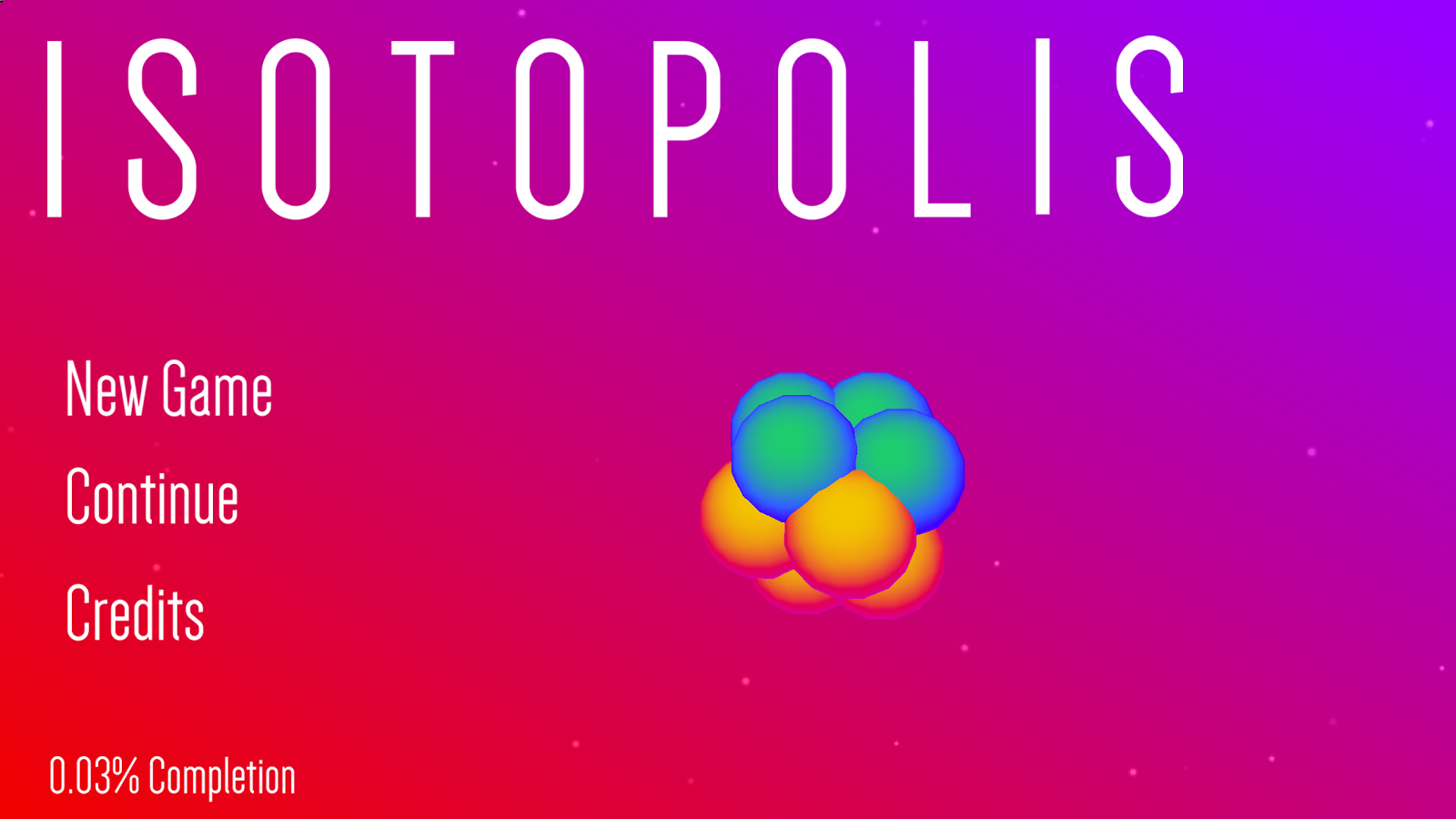 Isotopolis- screenshot