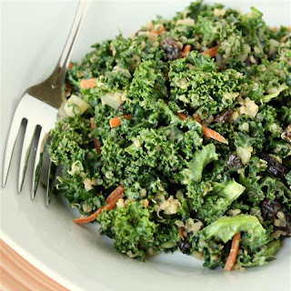 Kale Salad with Lemon Tamari Dressing