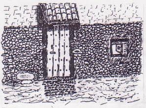 Photo: Boletín 121 - puerta casa tio Coyo