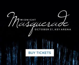 Midnight Masquerade - Medium Rectangle Ad Template