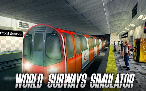 World Subways Simulator MOD APK 1.4.2 [Unlimited Money] 5
