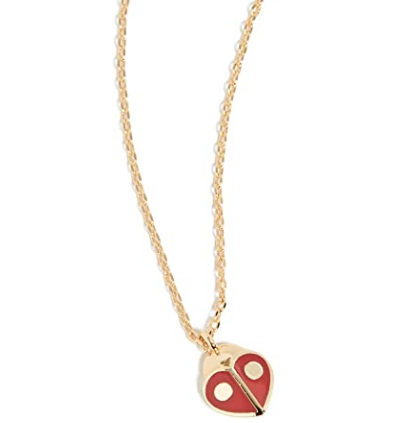 KATE SPADE NEW YORK 'I LOVE YOU' PENDANT NECKLACE