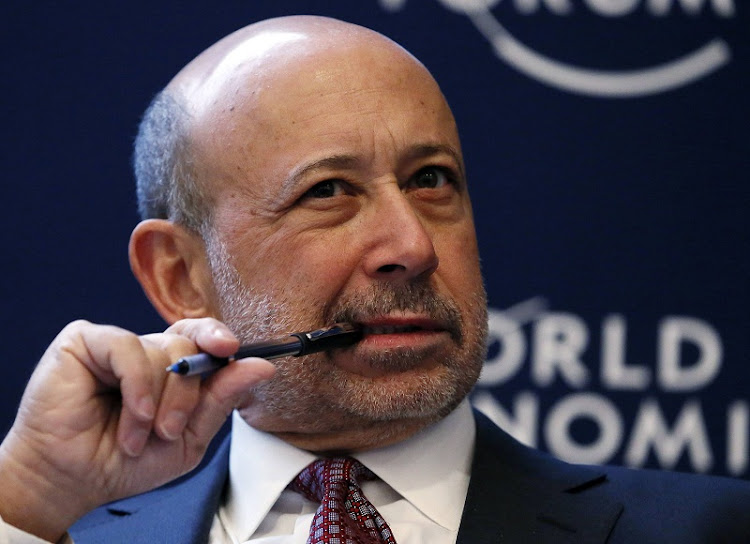 Lloyd Blankfein. Picture: REUTERS