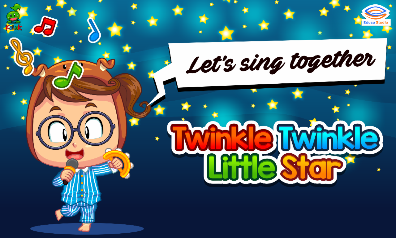 Lagu Anak Twinkle Little Star Apl Android Di Google Play