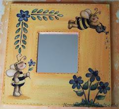 Photo: wooden mirror 12