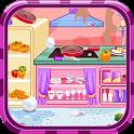 Kitchen restaurant cleanup icon