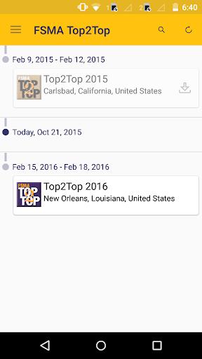玩商業App|FSMA Top2Top Conference免費|APP試玩