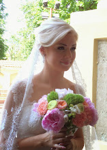 Photo: While we were there, this beautiful lady was married.