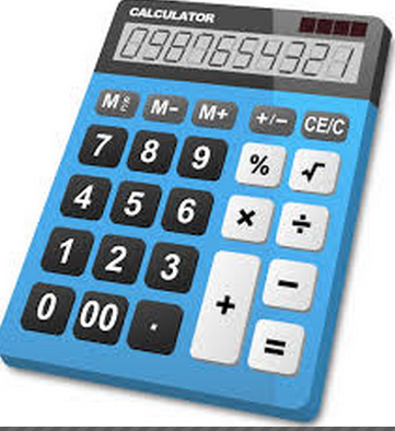 Pocket light calculator