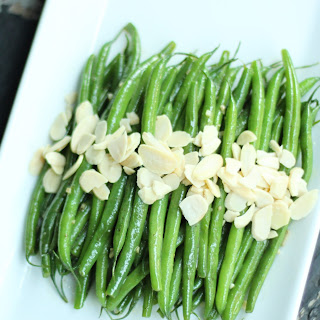 Garlic Green Beans Almondine
