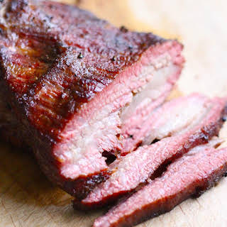 Easy Texas Style Smoked Brisket.