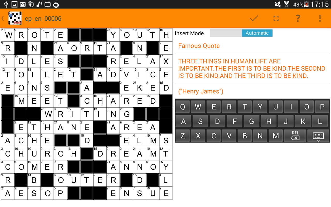 Codeword Puzzles,Cipher Games- screenshot