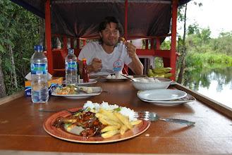 Photo: pranzo sulla Rimba Princess